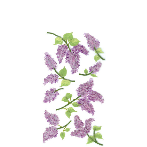 Lovely Lilacs Dimensional Stickers