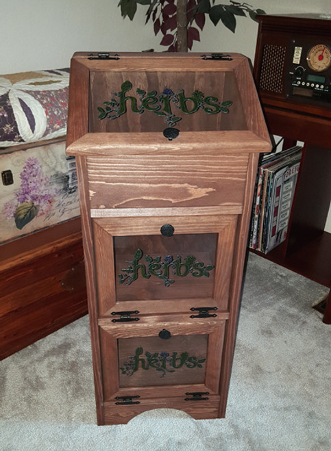 Potato Vegetable Storage Bin - Herbs