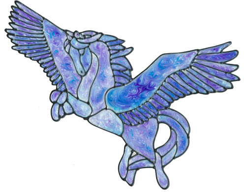 Pegasus Window Cling
