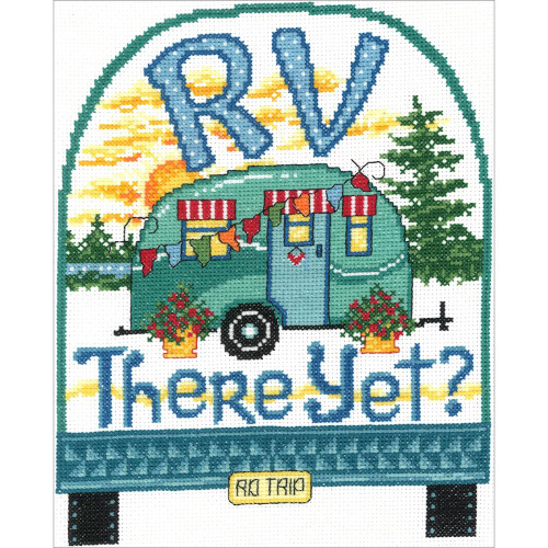 Imaginating Counted Cross Stitch Kit - RV There Yet?
