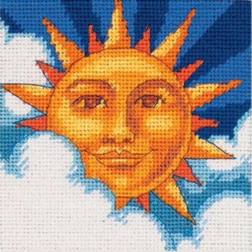 Dimensions Needlepoint Kit - Celestial Sun