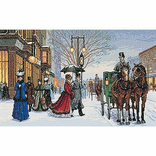 Dimensions/Gold Collection Counted Cross Stitch Kit - Alan Maley's Gracious Era