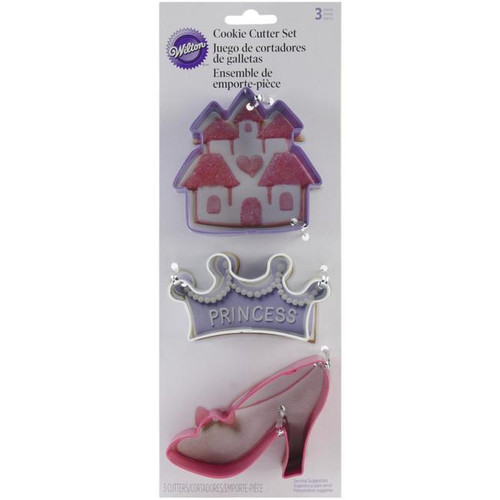 Wilton Cookie Cutters 3/Pkg - Princess