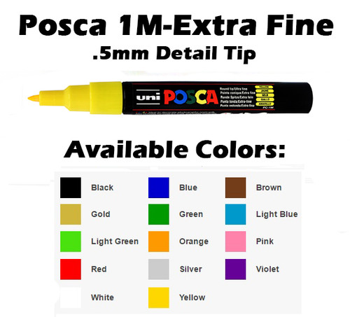 Posca Ultra Fine Paint Marker - PC-1M
