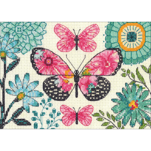 Dimensions Counted Cross Stitch - Butterfly Dream