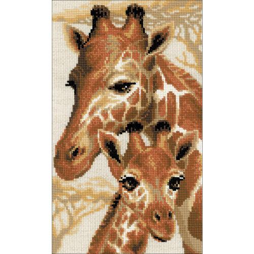 RIOLIS Counted Cross Stitch Kit - Giraffes