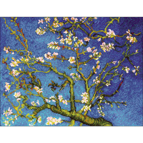 RIOLIS Counted Cross Stitch Kit - Almond Blossom Painting