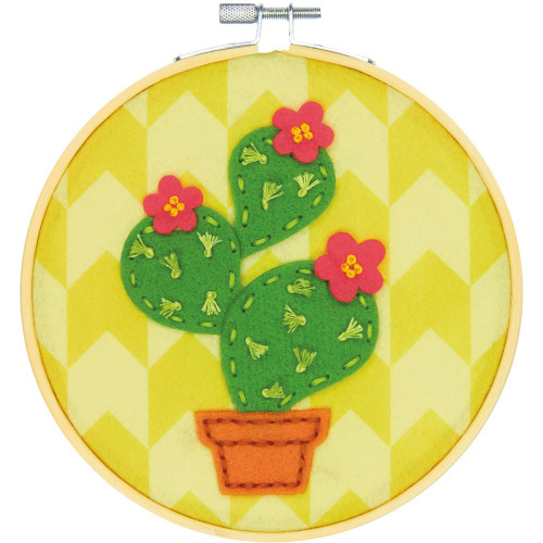 Dimensions  Cactus DIY Felt Applique Kit