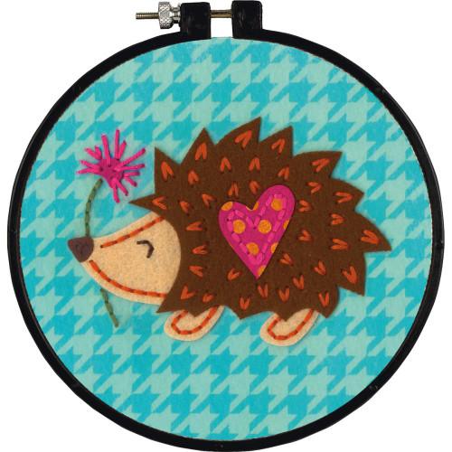 Dimensions/Learn-A-Craft Hedgehog Felt Applique Kit