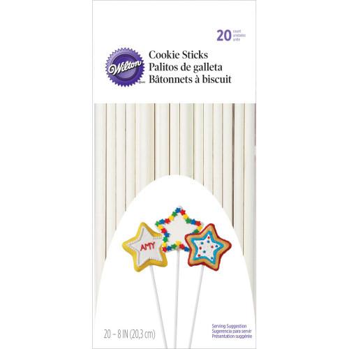 "Wilton Cookie Treat Sticks 8"" 20/Pkg"