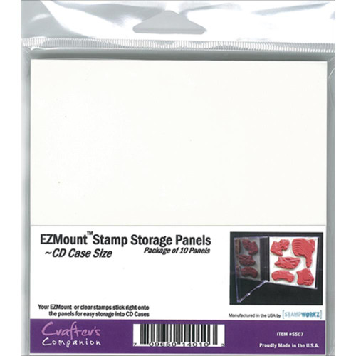 EZMount Stamp Storage Panels 10/Pkg