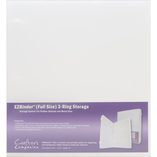 EZBinder 3-Ring Storage - Full Size