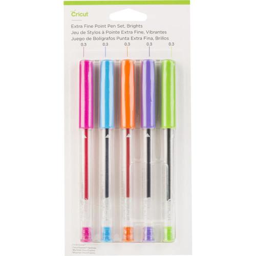 Cricut Brights Extra Fine Point Pen Set 5/Pkg