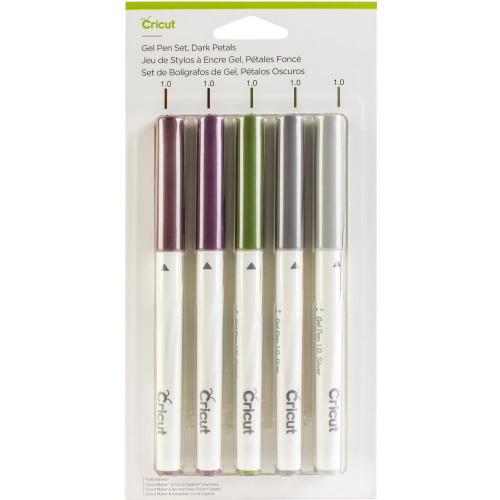Cricut Dark Petals Gel Pen Set 5/Pkg