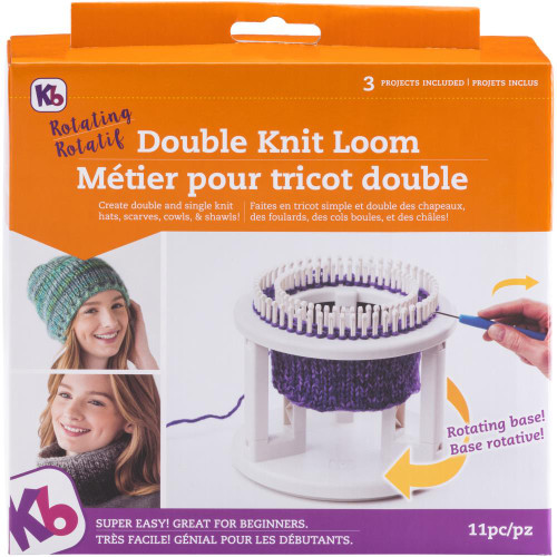 Knitting Board Rotating Double Knit Loom