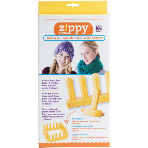 Knitting Board Zippy Master Loom Set