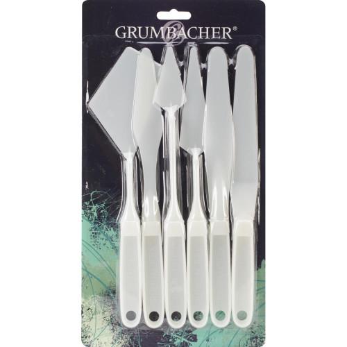 Grumbacher Palette Knives 6/Pkg