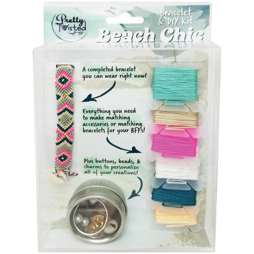 Pretty Twisted Bracelet & DIY Kit - Beach Chic