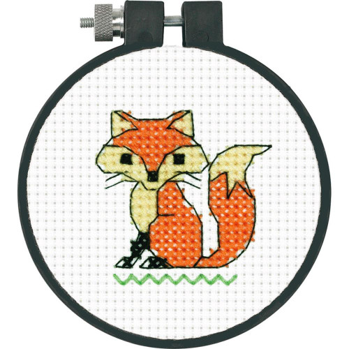 Learn-A-Craft Counted Cross Stitch Kit - Fox