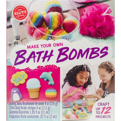 Klutz Make Your Own Bath Bombs