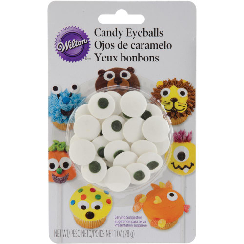Candy Decorations - Large Eyeballs