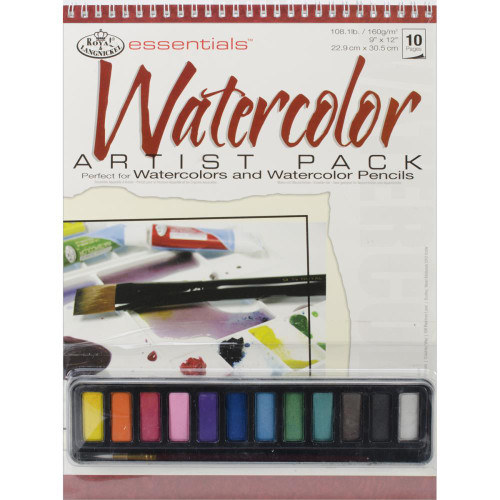 essentials™ Artist Pack - Watercolor