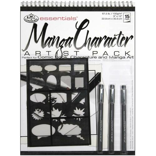 essentials™ Artist Pack - Manga Character
