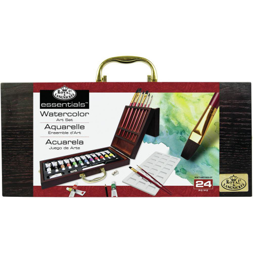 Royal & Langnickel essentials™ Artist Set - Watercolor Painting 24 Pc.