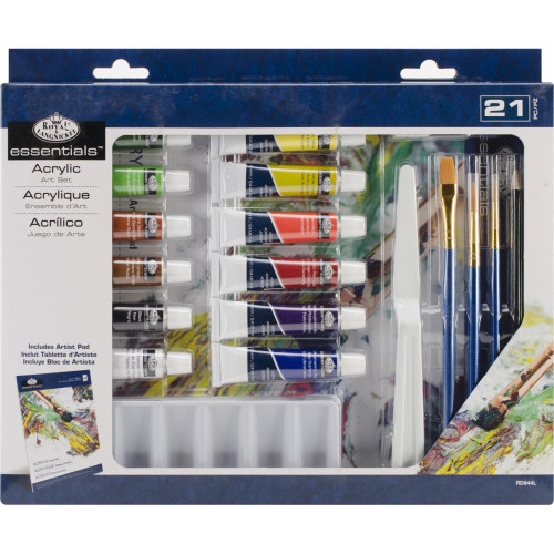 essentials™ Art Set - Acrylic Painting 21/Pkg