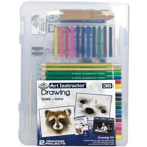 Art Instructor Drawing Clearview Art Set Small - 36pc
