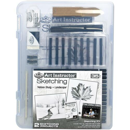 Art Instructor Sketching Clearview Art Set Small - 35pc