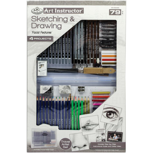 Art Instructor Sketching & Drawing Clearview Art Set - Large