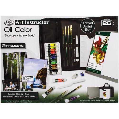 Art Instructor Oil Color Travel Set - Large
