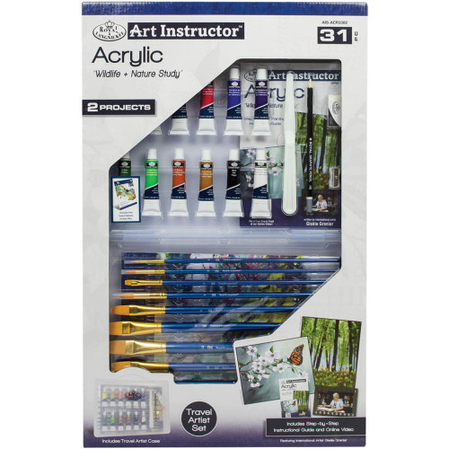 Art Instructor Acrylic Clearview Art Set - Large
