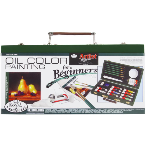 Artist Set For Beginners - Oil Color Painting