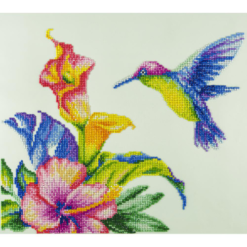 Diamond Art Kit - Hummingbird