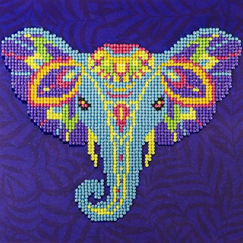 Diamond Art Beginner Kit - Elephant