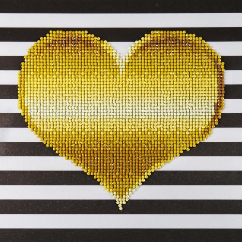 Diamond Art Beginner Kit - Heart