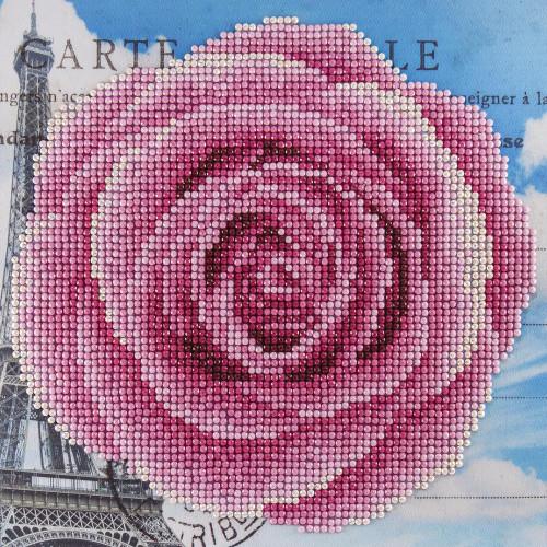Diamond Art Beginner Kit - Rose