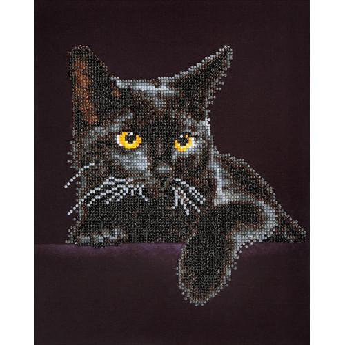 Diamond Dotz Diamond Facet Art Kit - Midnight Cat
