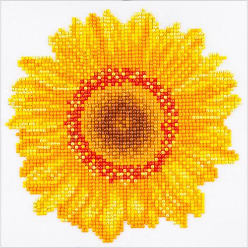 Diamond Dotz Diamond Facet Art Kit - Happy Day Sunflower