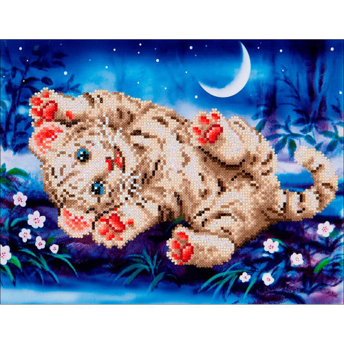 Diamond Dotz Diamond Facet Art Kit - Baby Tiger Roly Poly