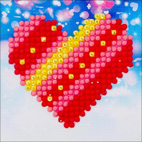 Diamond Dotz Diamond Facet Art Kit - Patchwork Heart