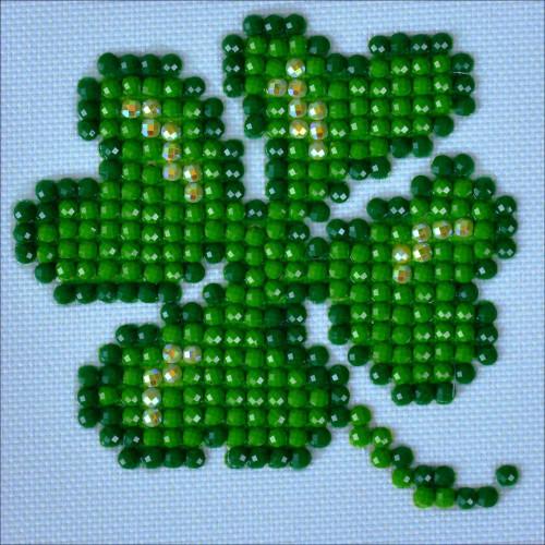 Diamond Dotz Diamond Facet Art Kit - Lucky Leaves