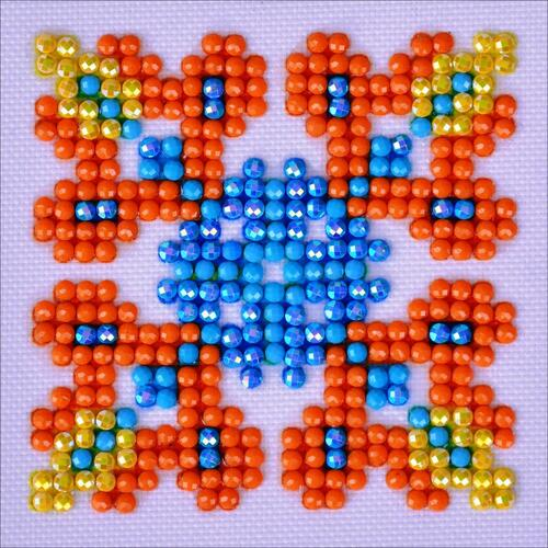 Diamond Dotz Diamond  Facet Art Kit - Autumn Mandala