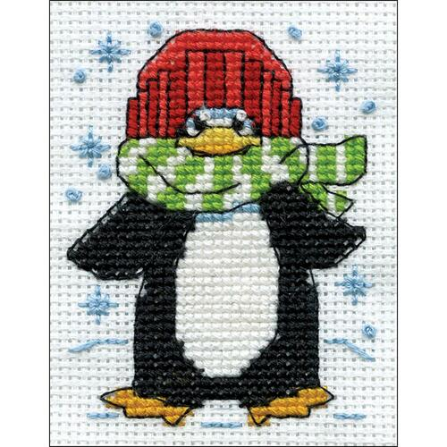 Design Works Counted Cross Stitch Kit - Penguin
