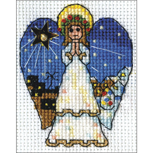 Design Works Counted Cross Stitch Kit - Angel