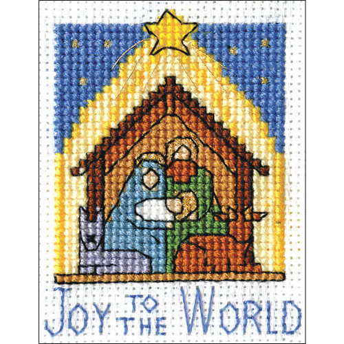Design Works Counted Cross Stitch Kit - Nativity