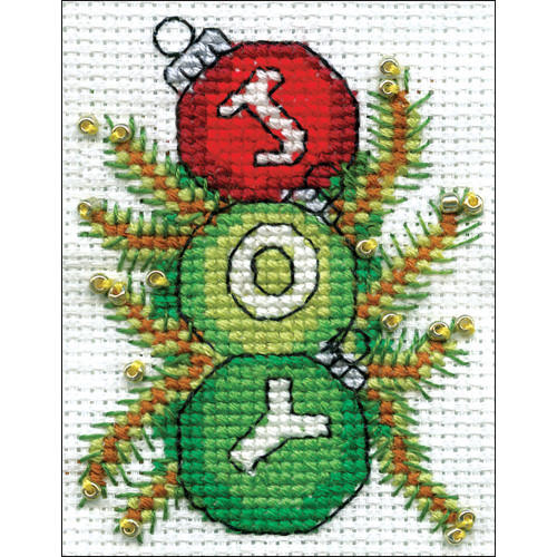 Design Works Counted Cross Stitch Kit - Joy