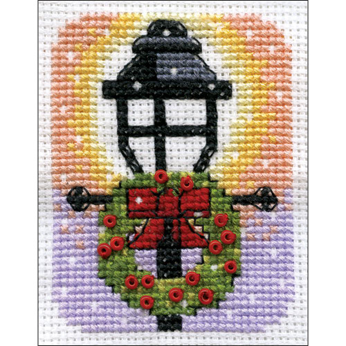 Design Works Counted Cross Stitch Kit - Lamp Post